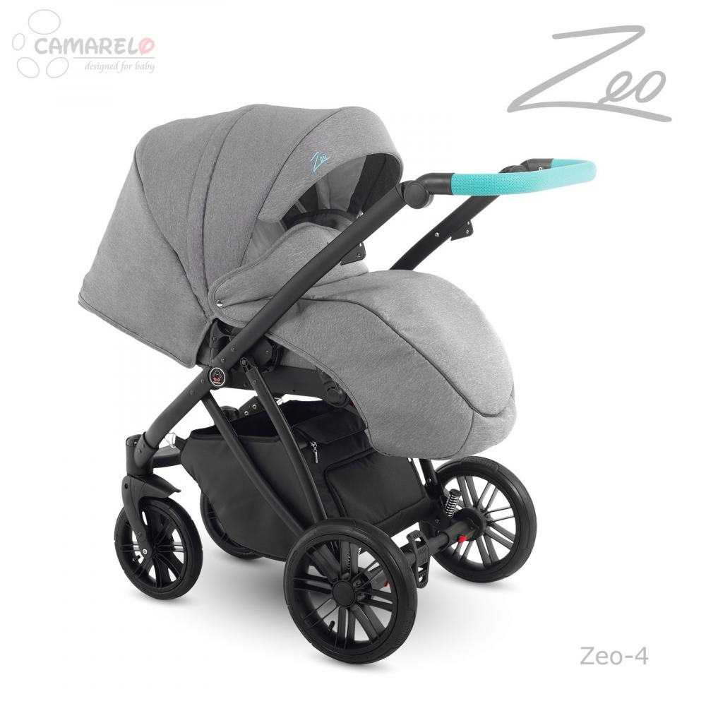 Carucior copii 2 in 1 Zeo Camarelo color 4 imagine