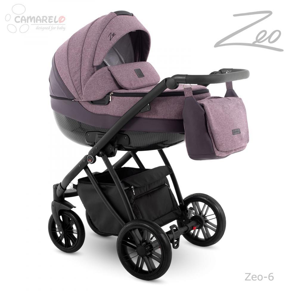 Carucior copii 2 in 1 Zeo Camarelo color 6