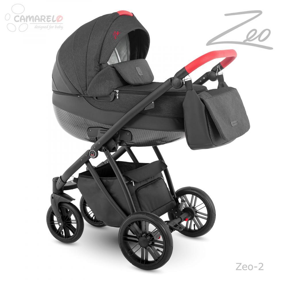 Carucior copii 3 in 1 Zeo Camarelo color 2