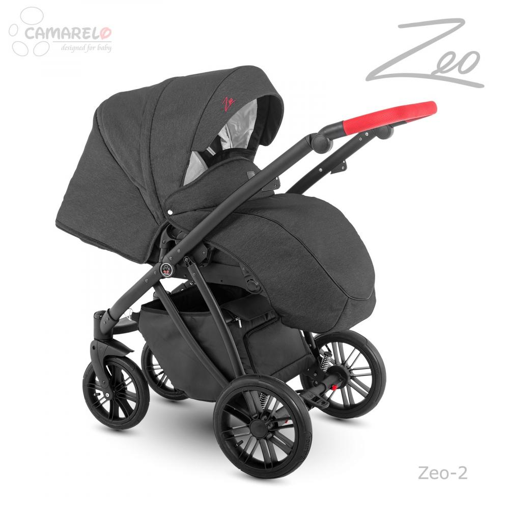 Carucior copii 3 in 1 Zeo Camarelo color 2 imagine