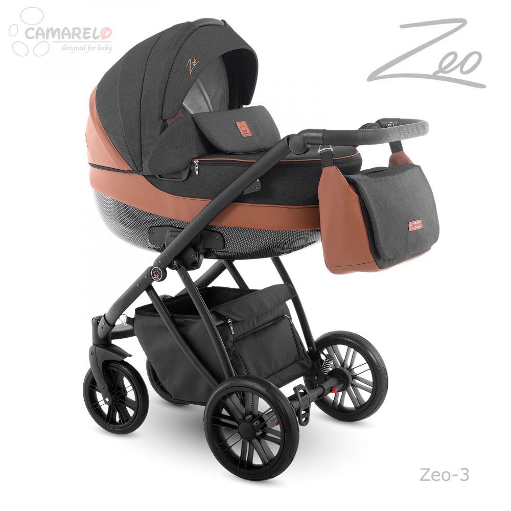 CAMARELO Carucior copii 3 in 1 Zeo Camarelo color 3
