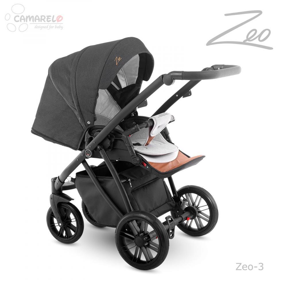 Carucior copii 3 in 1 Zeo Camarelo color 3