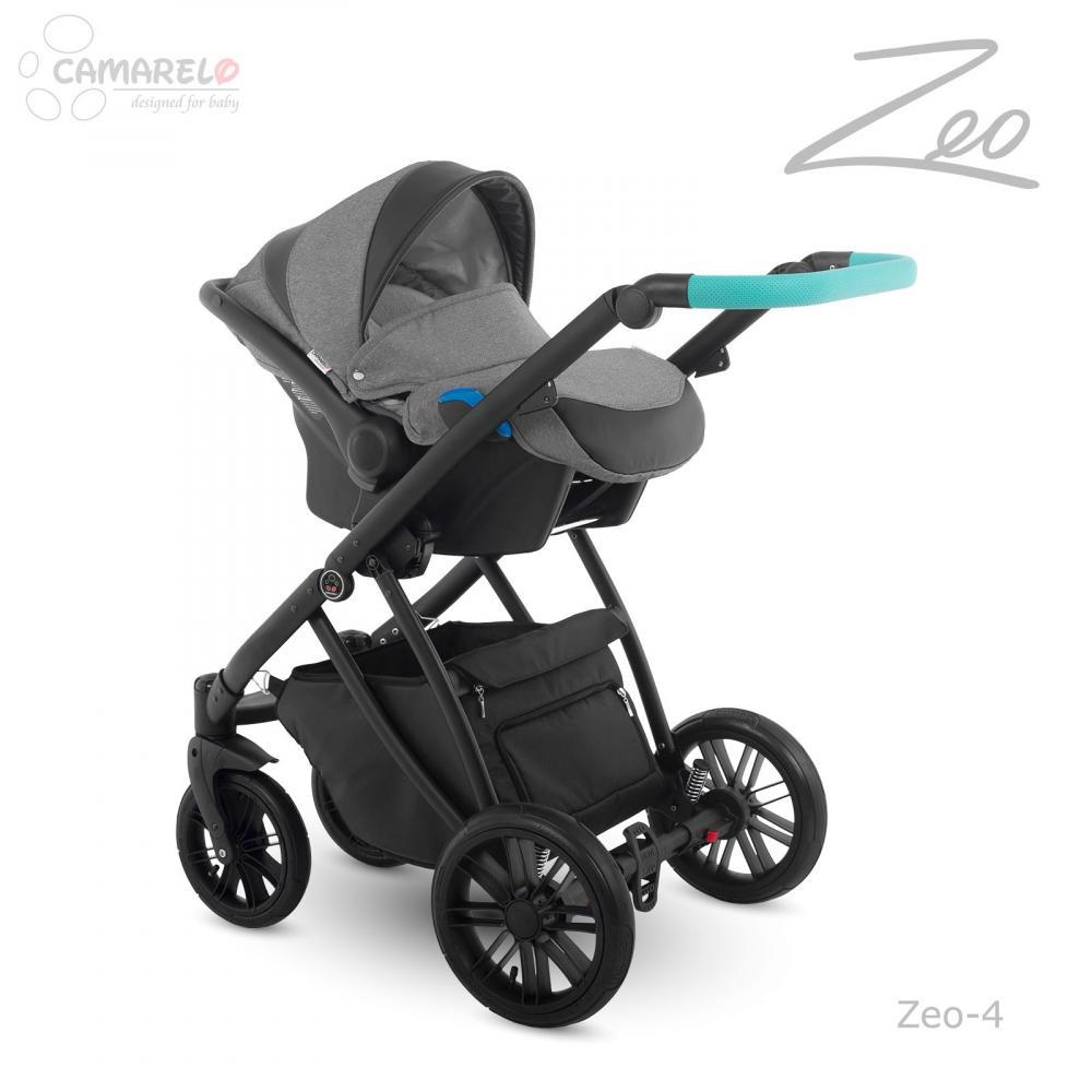 Carucior copii 3 in 1 Zeo Camarelo color 4