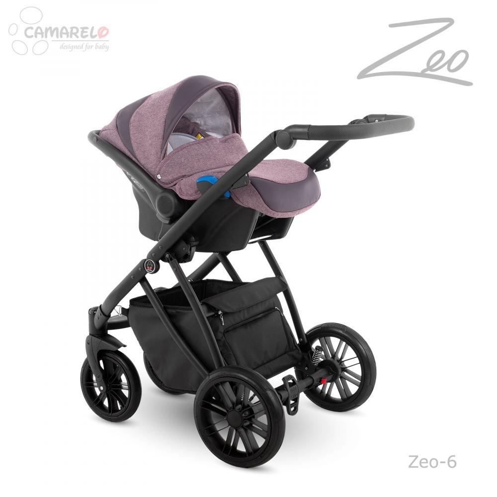 Carucior copii 3 in 1 Zeo Camarelo color 6