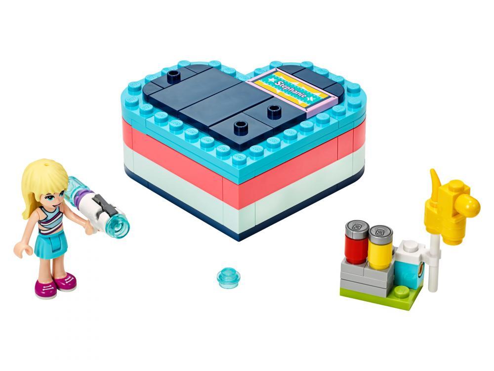 Cutia de vara in forma de inima a Stephaniei Lego Friends
