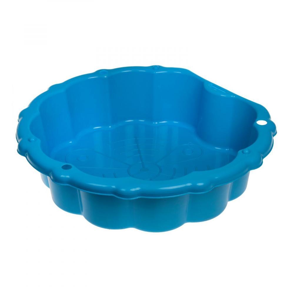 Cutie de nisip cu protectie Basic Blue