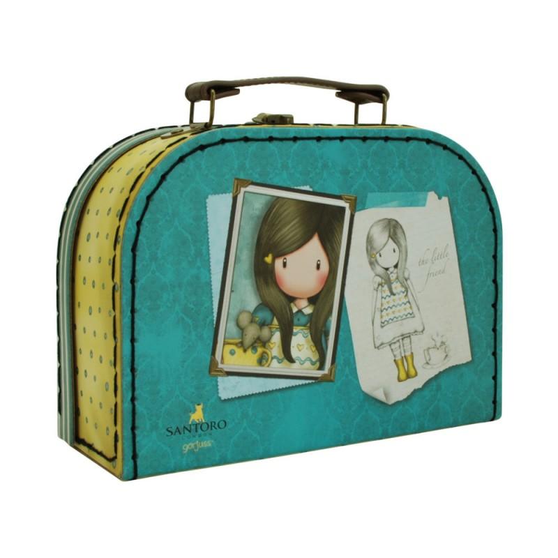 Cutie depozitare tip valiza mica Gorjuss The Little Friend imagine