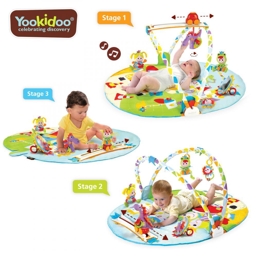 Jucarie centru de joaca cu jucarii mobile si activitati fizice Yookidoo