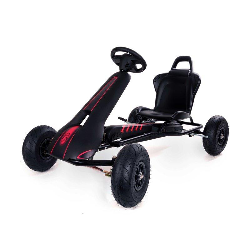 Kart cu pedale Ferbedo Air Racer Negru imagine