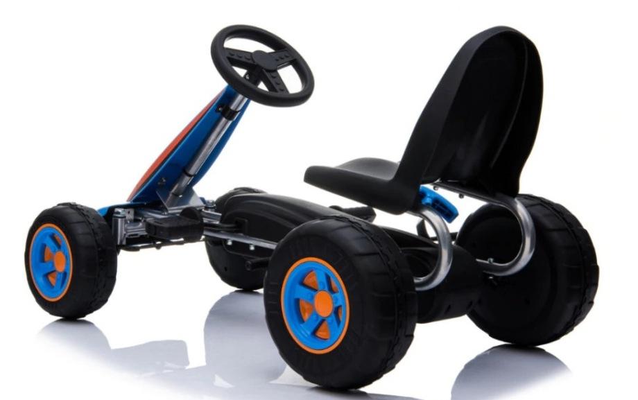 Kart Cu Pedale Go Kart Fever Blue
