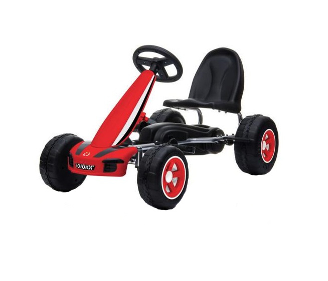 Kart Cu Pedale Go Kart Fever Red