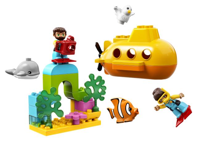 Lego Aventura cu submarinul