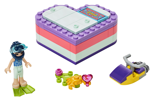 Cutia de vara in forma de inima a Emmei Lego Friends