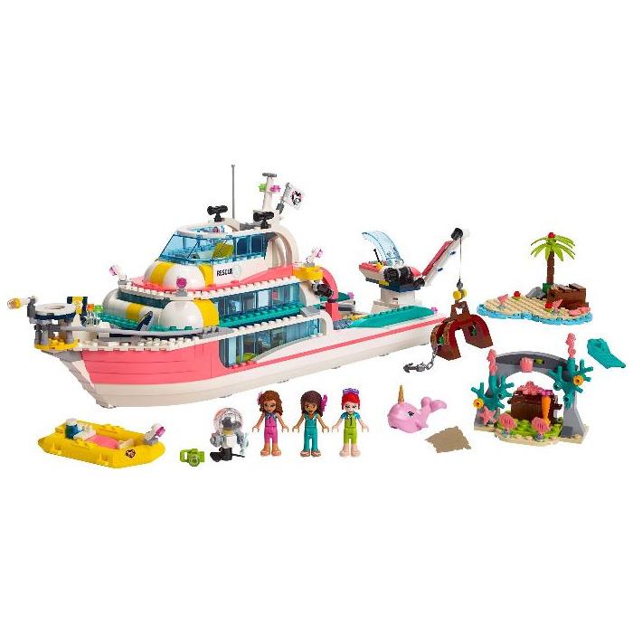 Lego Friends Barca pentru misiuni de salvare