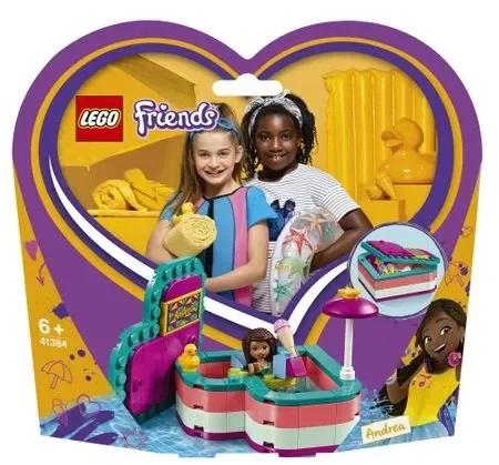 Lego Cutia de vara n forma de inima a Andreei