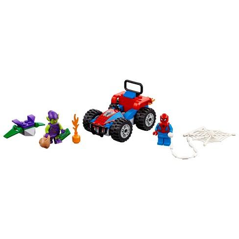 Lego urmarirea cu masina a lui Spider-Man