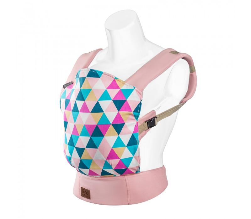 Marsupiu ergonomic Nino Pink