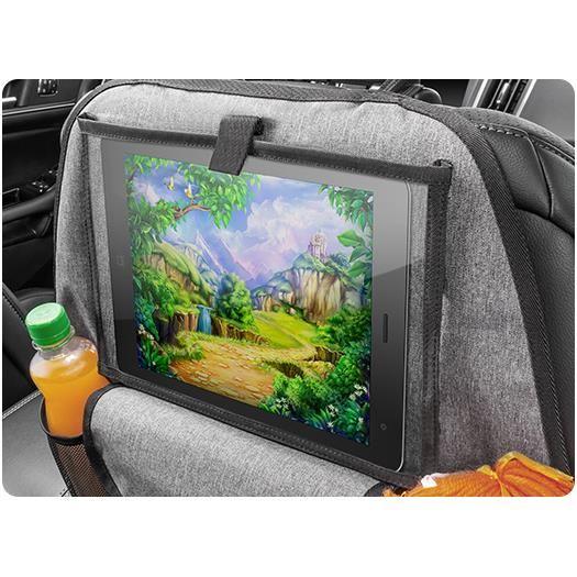 Organizator auto multimedia pentru scaunul din spate Reer TravelKid Entertain 86051