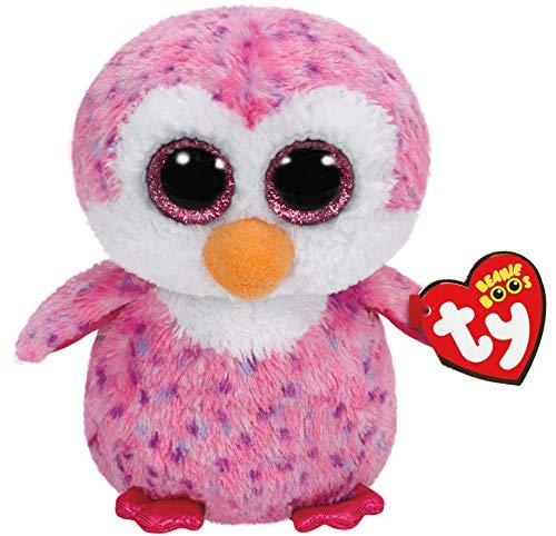 Plus pinguinul roz Ty 15 cm Boos Glider