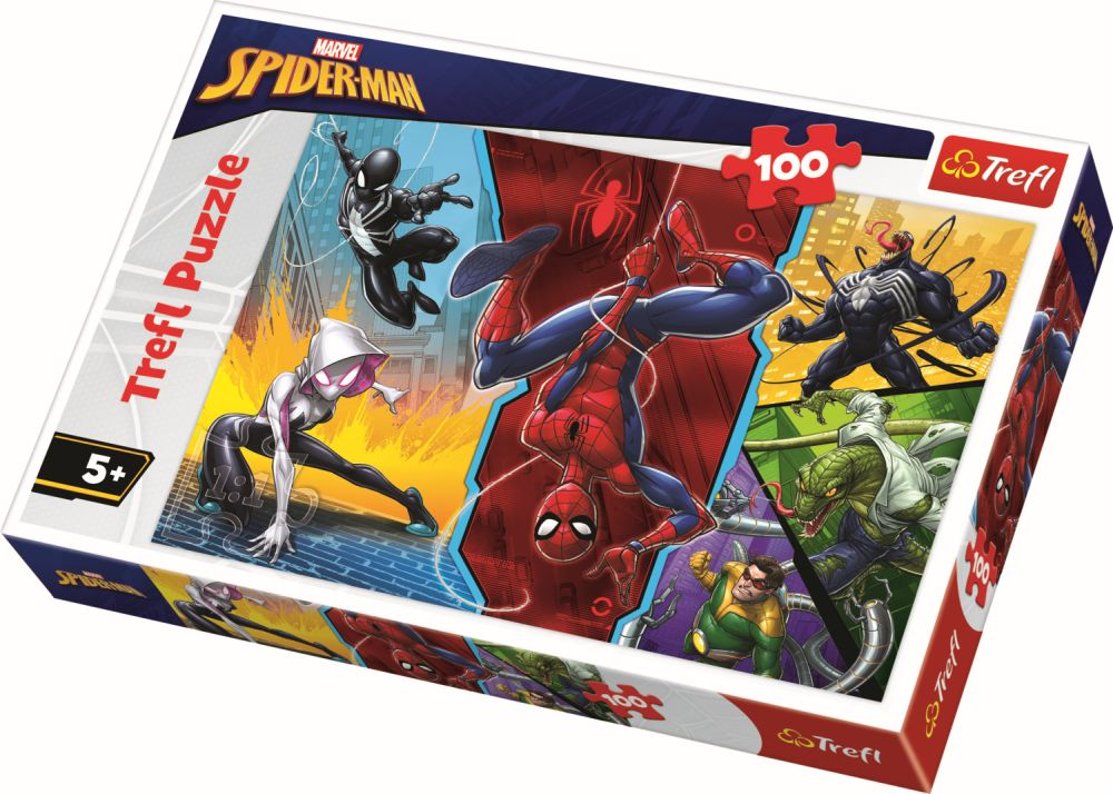Puzzle Trefl 100 Spiderman
