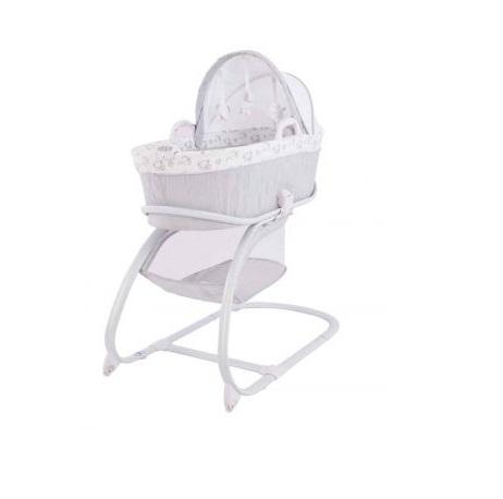 Patut leagan KikkaBoo Welcome Baby pentru bebelusi Swing Grey