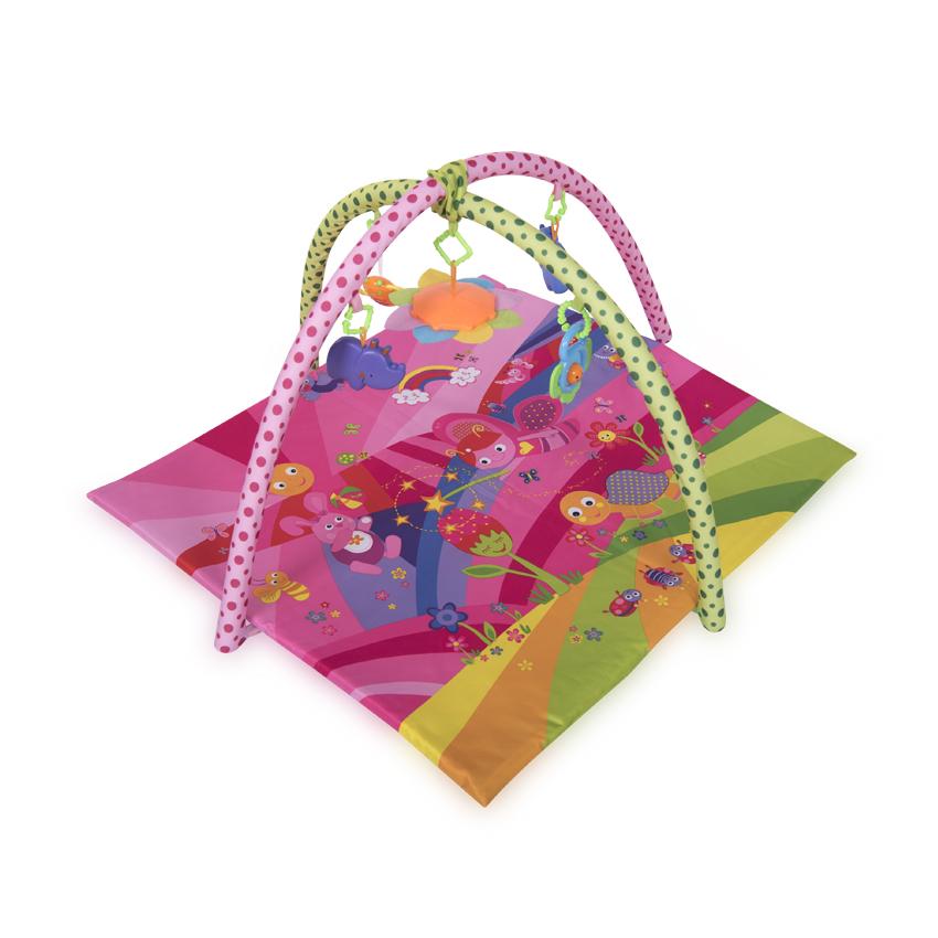 Saltea de activitate 89 x 84 cm Fairy Tales Pink din categoria Camera copilului de la LORELLI