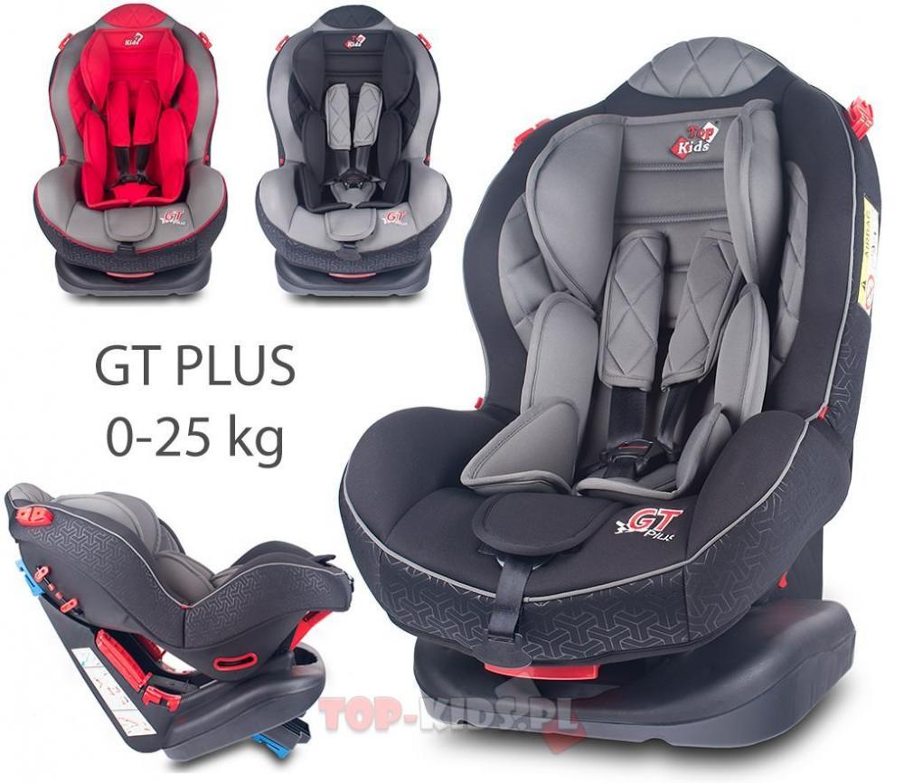 Scaun Auto Top Kids gt plus 0 - 25 kg Black imagine