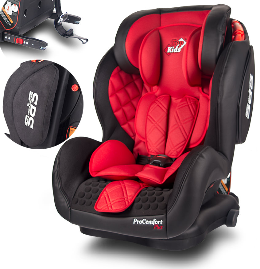Scaun Auto Top Kids Proconfort Plus 9 - 36 kg Red imagine