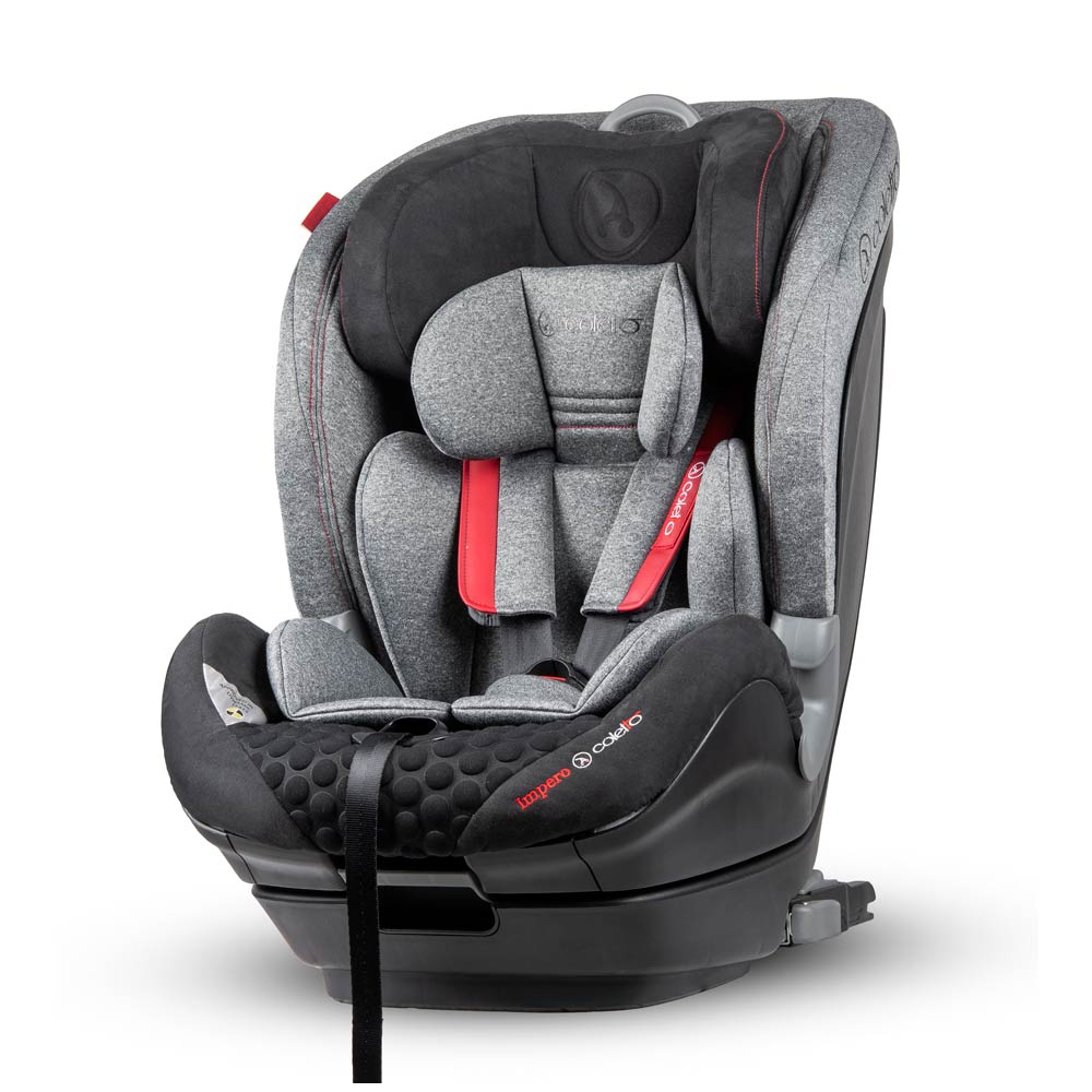 Scaun auto Impero cu Isofix si Top Tether 9-36 Kg Grey Coletto imagine