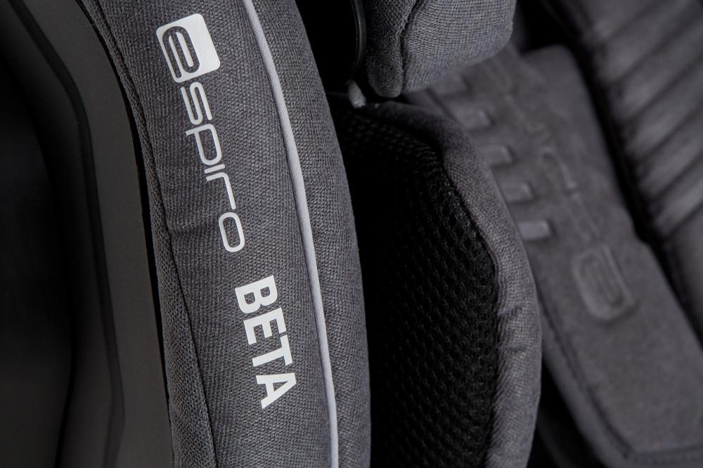 Scaun auto cu isofix 9-36 kg Espiro Beta 07 GraySilver 2019