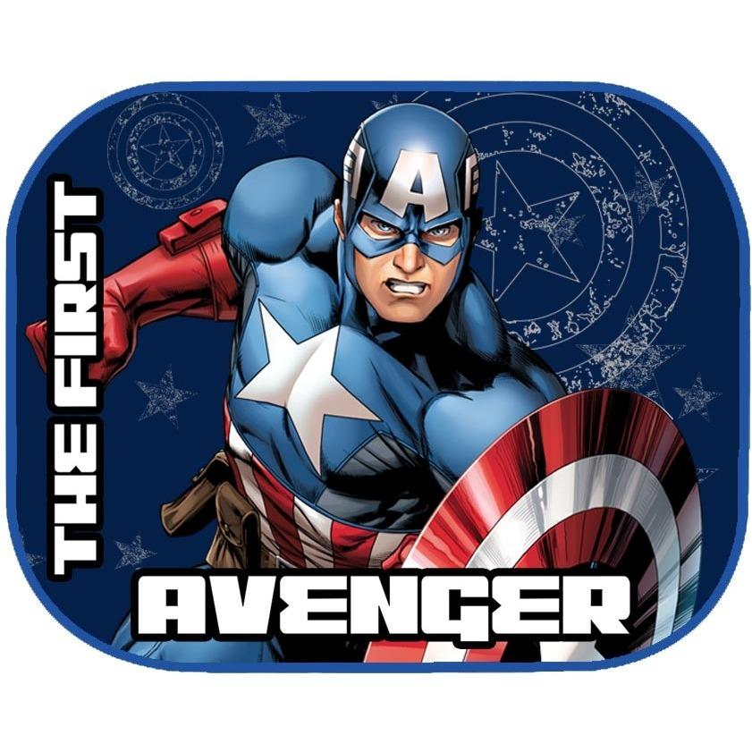 Set 2 parasolare Captain America Eurasia din categoria Scaune Auto Copii de la Eurasia