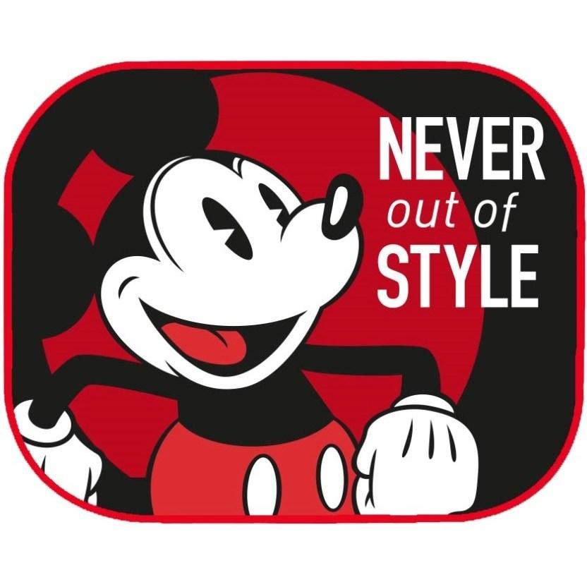 Set 2 parasolare Mickey Disney Eurasia din categoria Scaune Auto Copii de la Disney Eurasia