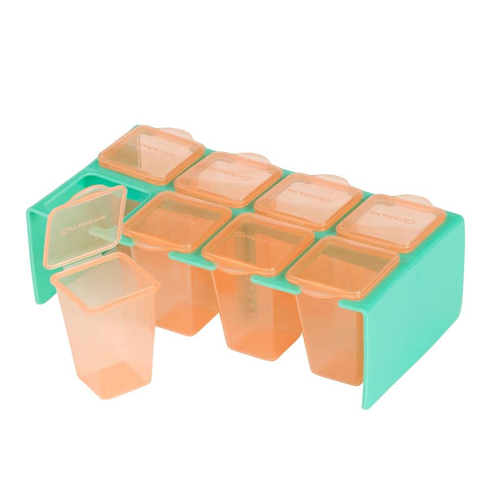 Set 8 recipiente de depozitare a hranei Clevamama imagine