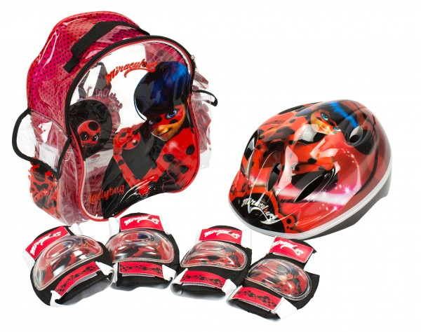 Set accesorii protectie Ladybug Buburuza Miraculoasa