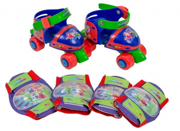 Set patine cu rotile si protectii Saica PJ Masks marime 24-29