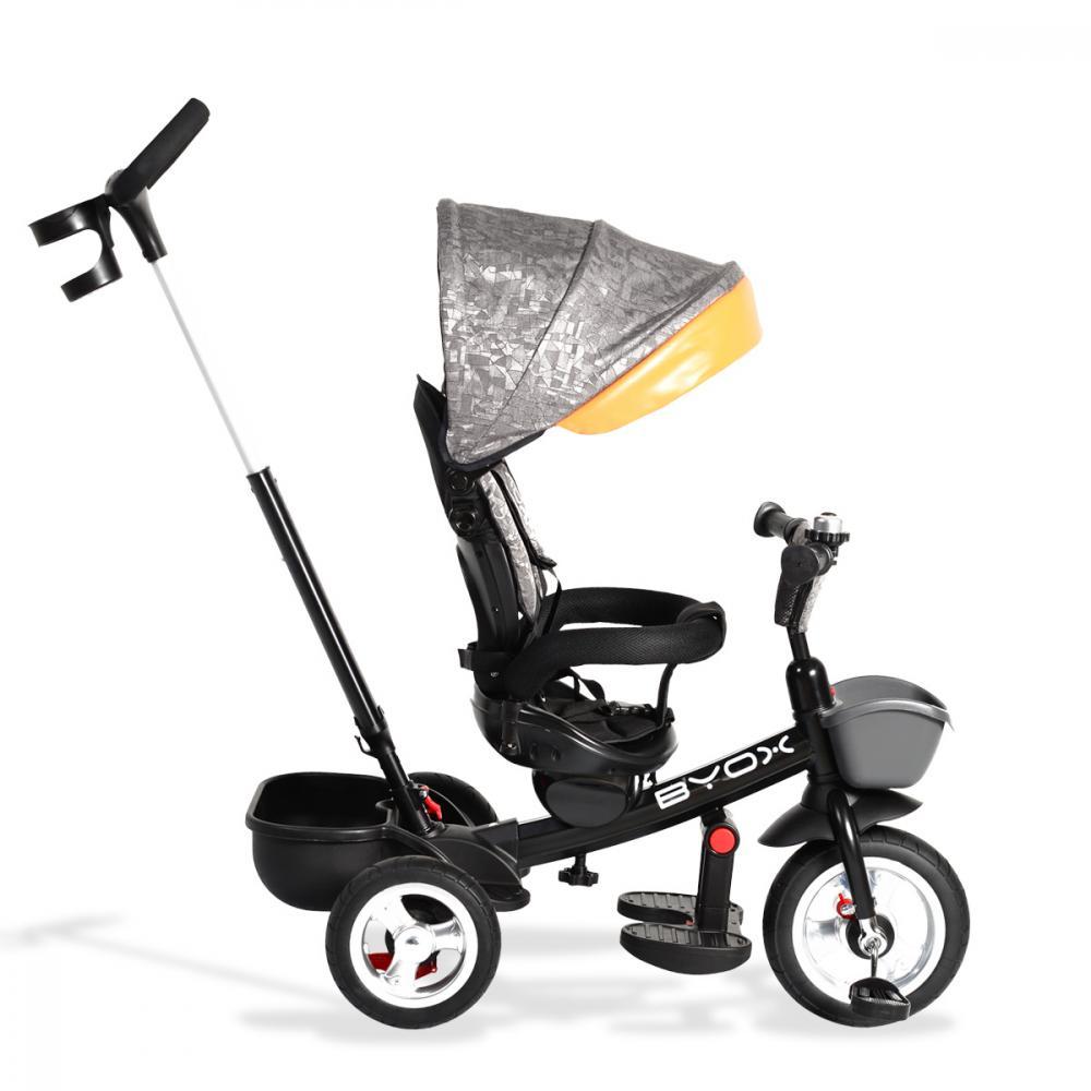 Tricicleta Byox cu sezut reversibil Atlas Beige