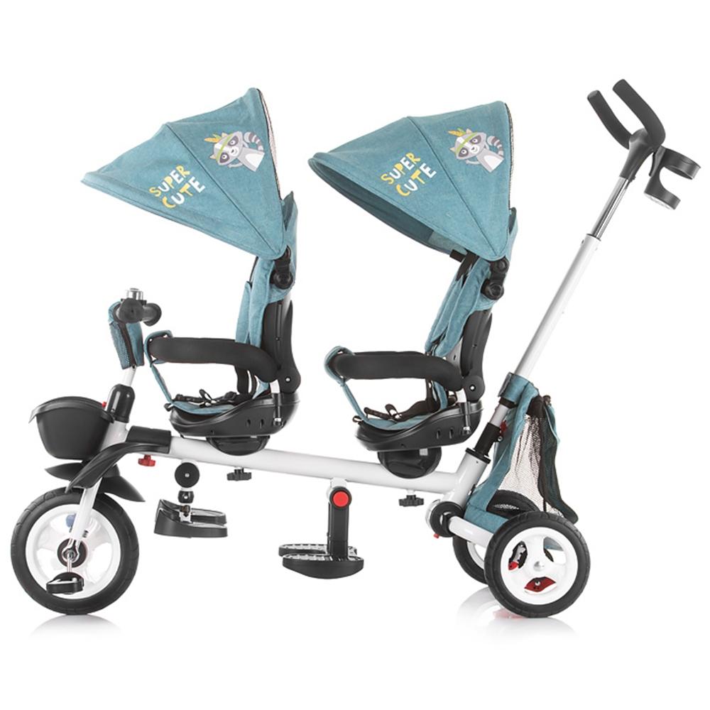 Tricicleta gemeni Chipolino 2Fun ocean imagine