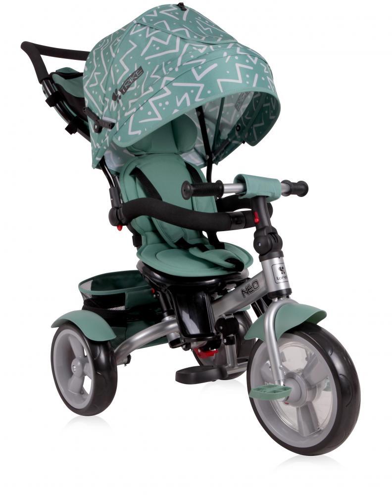 Tricicleta multifunctionala 4 in 1 Neo Green Lines