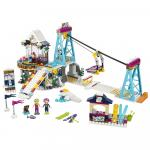 Schiliftul statunii de iarna Lego Friends