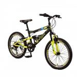 Bicicleta pentru copii Byox Versus Black 6 viteze 20 inch