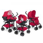 Carucior 3 in 1 Chicco Trio Sprint RedPassion 0luni+