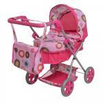 Carucior pentru papusi Little Mom Cookies Pink