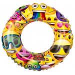 Colac inot copii 50 cm Saica Emoji