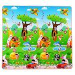 Covor termoizolant pentru copii MD2 Happy Trees 180x180x1 cm