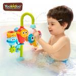 Jucarie robinet pivotant cu accesorii de sortare rotative colorate Yookidoo