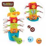 Jucarie turn cu bile si accesorii mobile Yookidoo