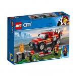 Lego Camionul de interventie al comandantului pompierilor