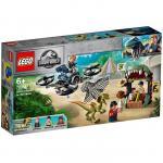Lego Dilophosaurus in libertate