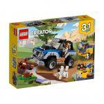 Masina de aventuri Lego Creator