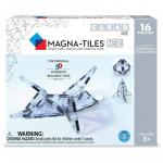 Set magnetic Ice Transparent Magna-Tiles 16 piese